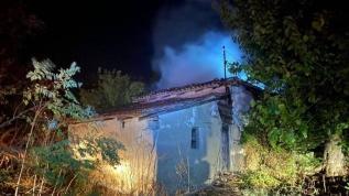 Tekirdağ'da yangın: 2 ev kullanılamaz hale geldi