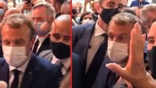Fransa Cumhurbaşkanı Macron'a Lyon'da saldırı