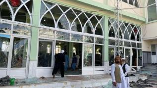 Afganistan'da camiye bombalı saldırı: 47 ölü