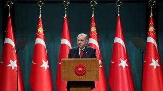 """Başkan Erdoğan: """"40 yıldır zorlu bir mücadeledeyiz"""""""