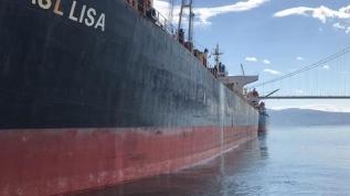 İzmit Körfezi'ni kirleten gemiye para cezası