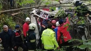 Samsun'da otobüs kazası... Ölü ve yaralılar var