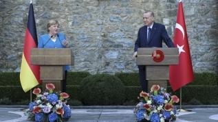 Başkan Erdoğan'dan Merkel'e esprili cevap!