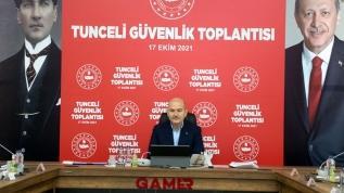 """""""Tunceli'de şu anda 3 milyar 699 milyon devam eden yatırım var"""""""