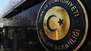 Dışişleri Bakanlığı'ndan Türkiye karşıtı bildiriye sert tepki!