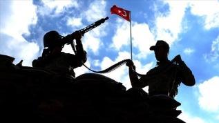 Pençe Kaplan bölgesinde 2 terörist etkisiz