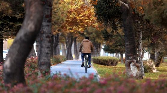 Konya'da 7'den 70'e herkes pedal çeviriyor