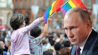 Putin'den 'eşcinsellik kampanyasına' sert tepki