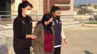 Terör örgütü üyesi olmak suçundan hapis cezası bulunan kadın İzmir'de yakalandı